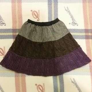 🚚 毛線短裙