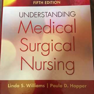 Understanding Medical Surgical Nursing (5th Edition)