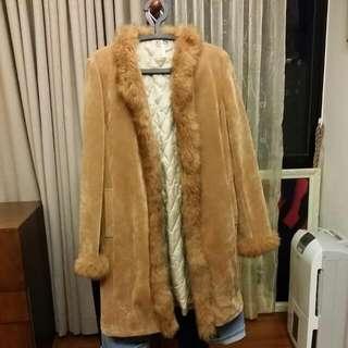 🚚 Bella麂皮長大衣