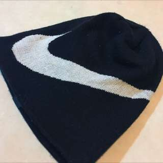 大Nike Logo 毛帽