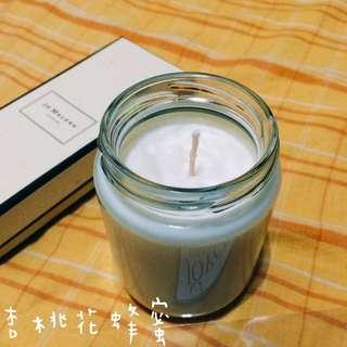 杏桃花蜂蜜 香氛蠟燭 手作
