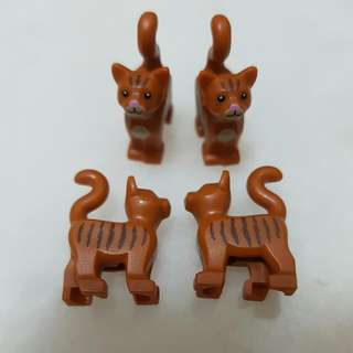 Lego Brown Cats