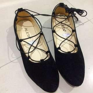 Balerina Shoes Hitam