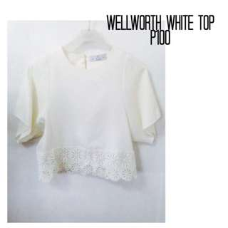 WELLWORTH WHITE TOP (FREE SHIPPING)