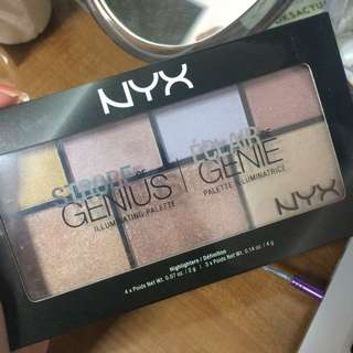 NYX A Strobe Of Genius Highlighter Palette