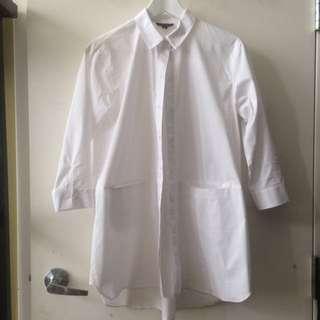 TOPSHOP Minimalist Dress Shirt