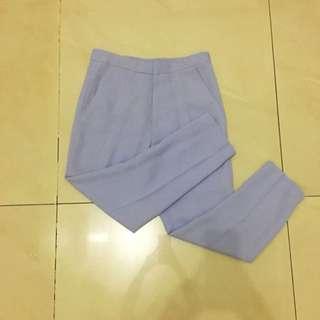soft purple pants