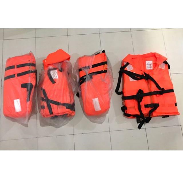 4 Pieces Lifejacket