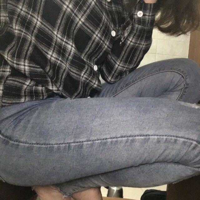 超彈顯瘦牛仔褲