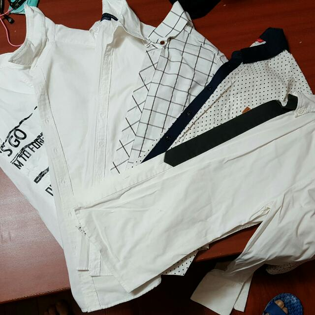 白系列襯衫