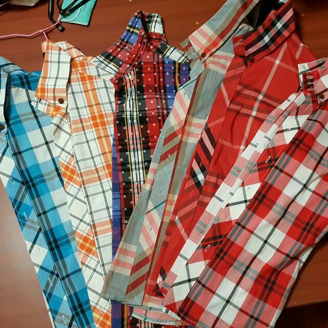 韓版格子系列襯衫