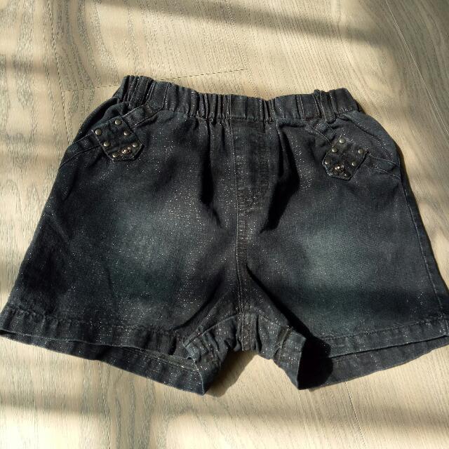 Roberta百貨公司品牌 金蔥短褲