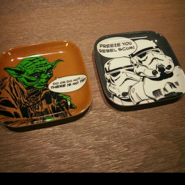 日本帶回 星際大戰 醬油碟子