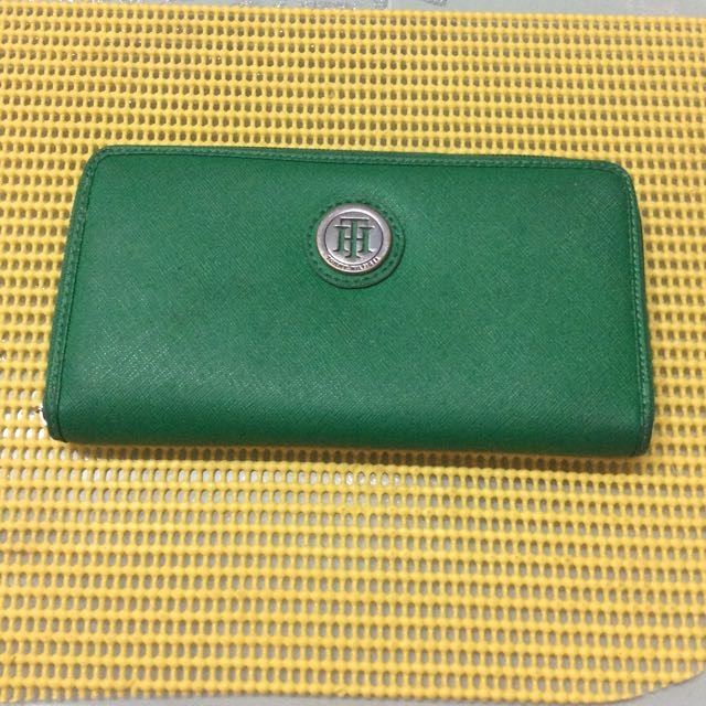 💯✔ Authentic TOMMY HILFIGIER LONG WALLET