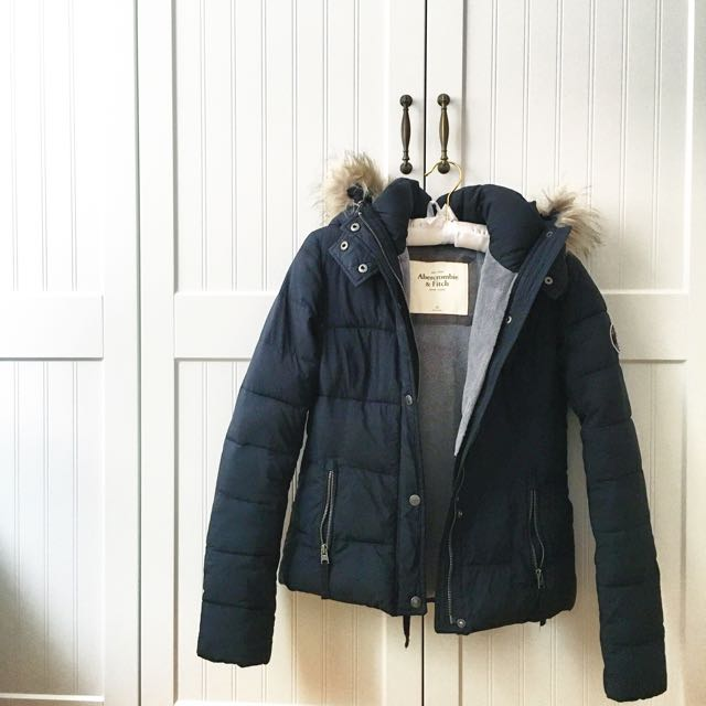 Abercrombie&Fitch 羽絨外套