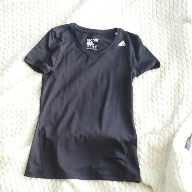 Adidas Climalite Fitted T-Shirt (Size S)