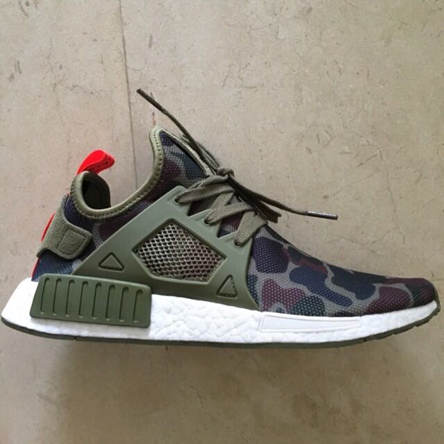 promo code 1341f 021cd ADIDAS NMD XR1 DUCK CAMO OLIVE US 9.5