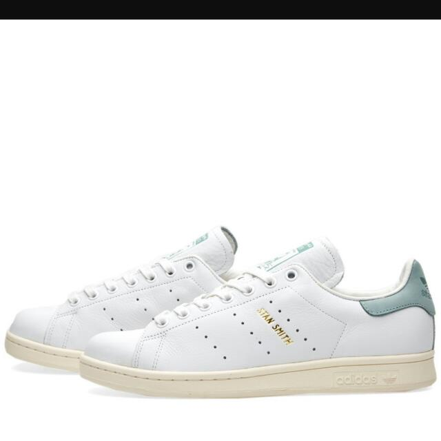 Adidas Stan Smiths White and Vapour Steel