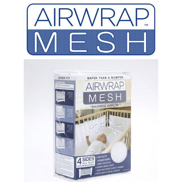 Airwrap Mesh Cot Bumper 4 Sides