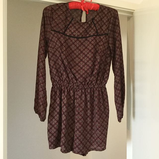 Ally Playsuit Size 8
