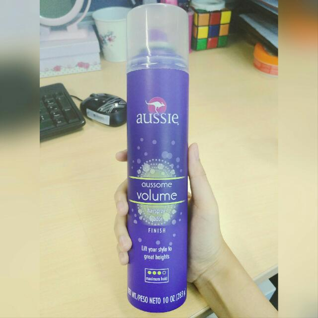Aussie Aussome Volume Maximum Hold Hair Spray