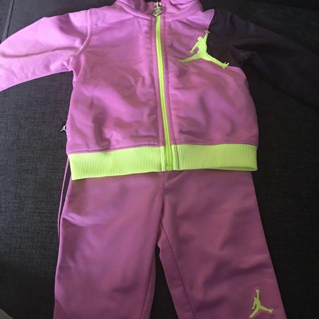 Baby Girl Jordan Tracksuit
