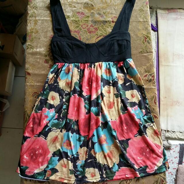 Babydoll Dress Flower