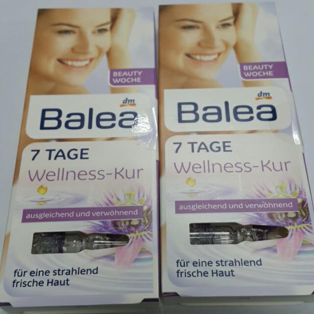 德國Balea 七日密集緊緻拉提安瓶組 (7支入)