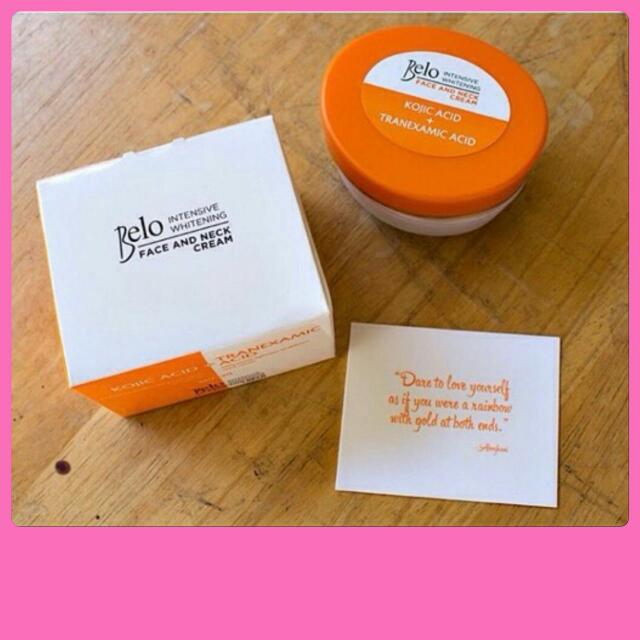 Belo Intensive Whitening Face And Neck Cream SPF30