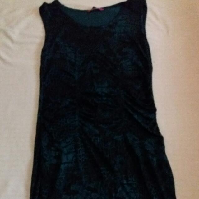 Betty Snakeskin Dress