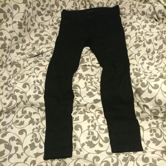 Black Uniqlo Women's Jeans