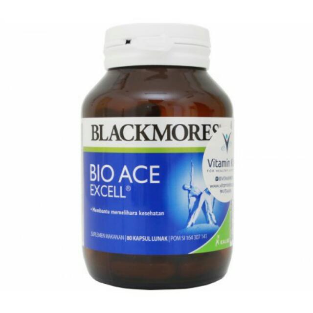 Blackmores Bio Ace Excell (80's)