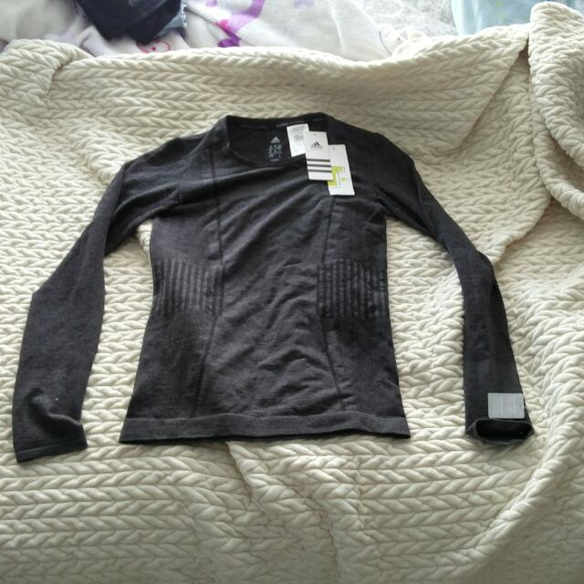 BNWT Adidas Primeknit Wool Top