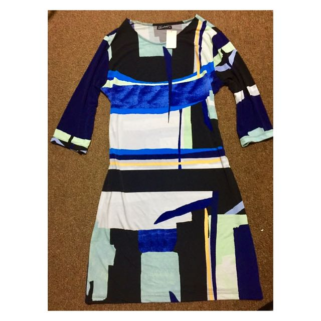 Brand New abstract dress