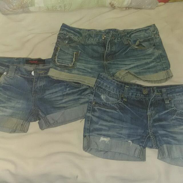 Bundle Denim Shorts