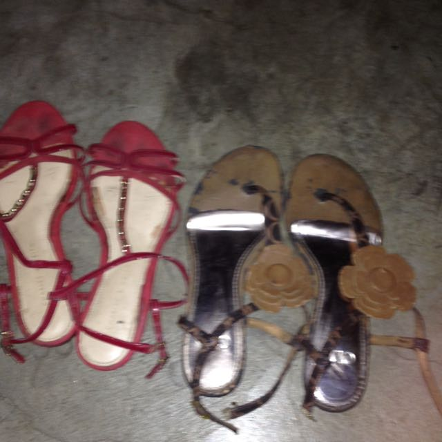 Bundle Sandals Charles&Keith And Celine