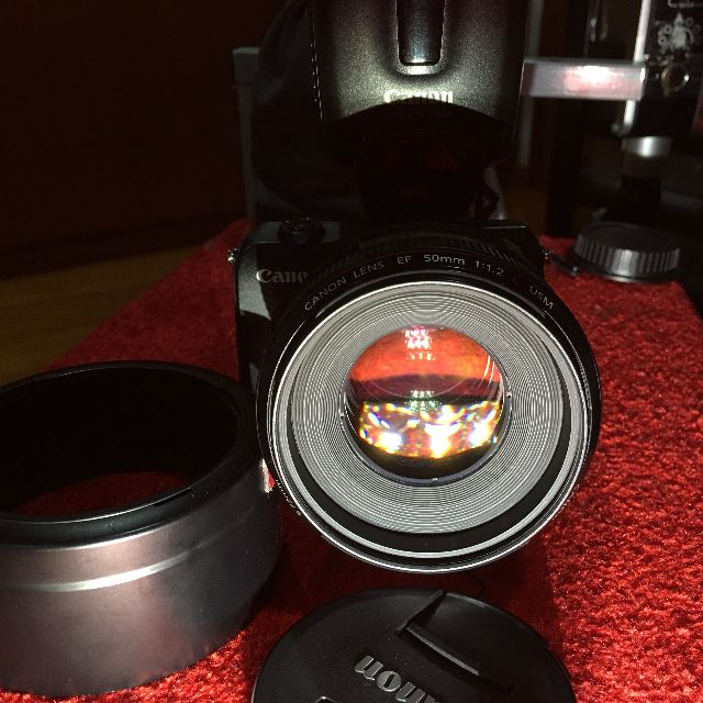 Canon EF 50mm f1.2 L (430 EX Flash not included) with Free Canon EOS M Body + 3rd Party EFM Adaptor