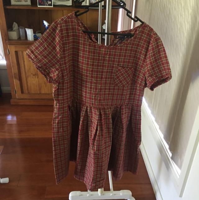 Checkered Dangerfield Dress
