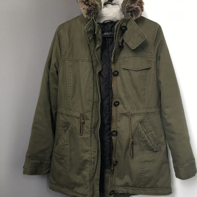 Cotton On Thick Parka Coat