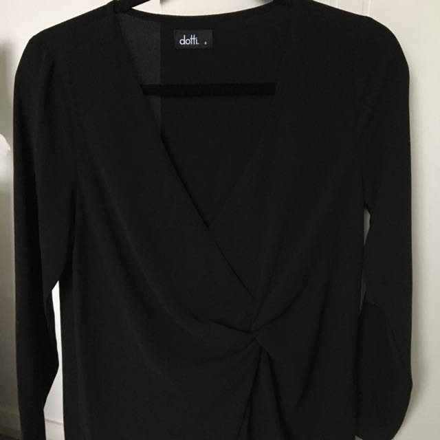 Ditto black blouse