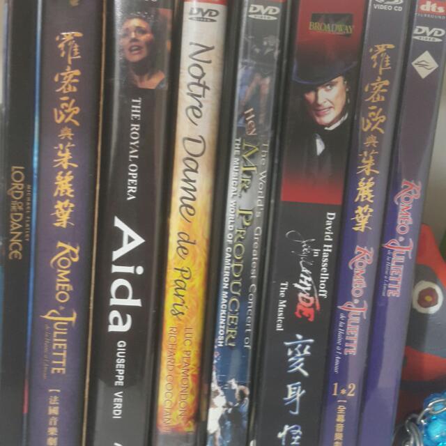 各式音樂劇DVD
