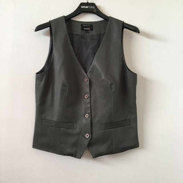 Essenxa Gray Vest