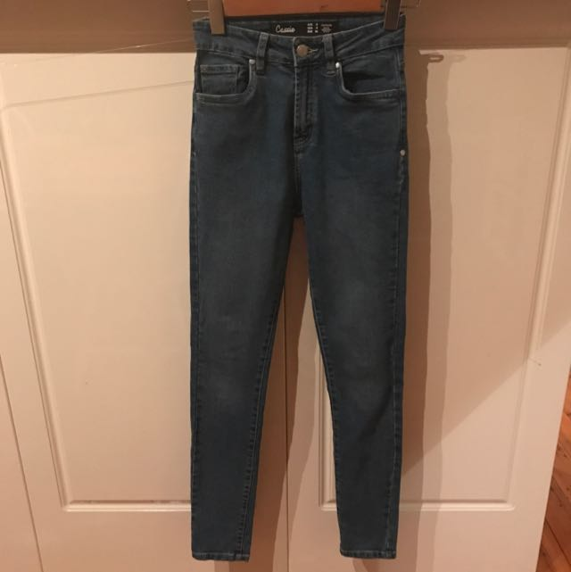Factorie Jeans Size 8 High Waisted Skinny Leg