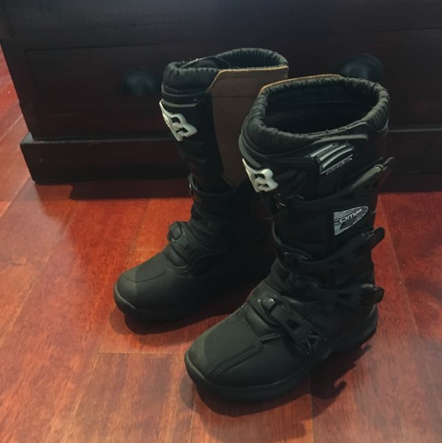 Fox Youth Comp3 Boots - Size Y5