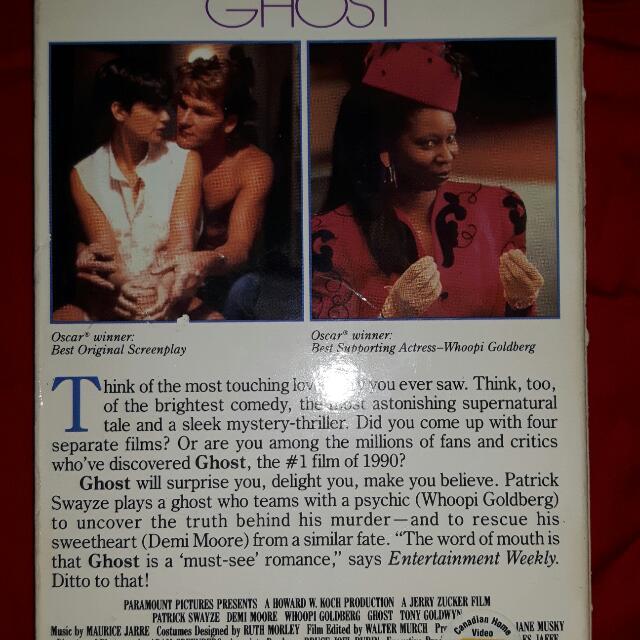 GHOST Original VHS Film