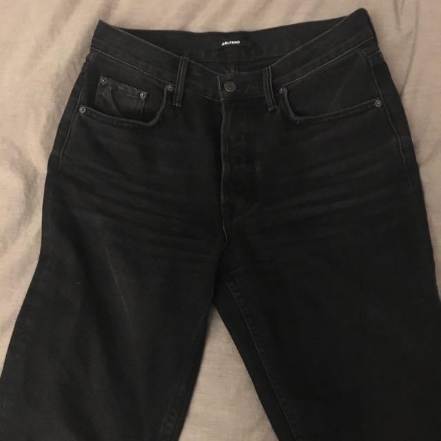 GRLFRND Denim - black - size 26
