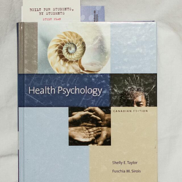 Health Psychology Canadian Edition (1st)