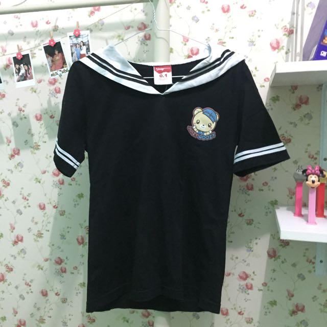 Juizywoozy Japanese Uniform Tshirt
