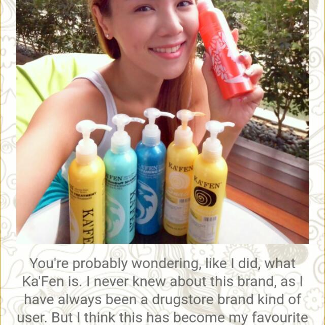 Ka'fen Shampoo And Treatment