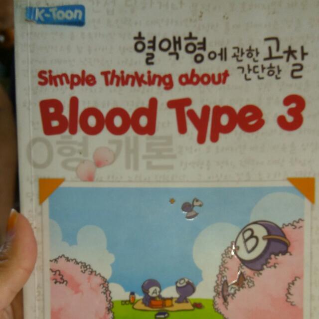 Komik Bloody ( Golongan Darah )